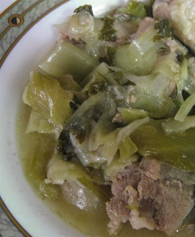 Pork with Leeks & Celery