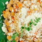 Chickpeas with Trahana & Myzithra Cheese